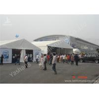 Wholesale 15x25M Uv Resistant Car Exhibition Promotional Canopy Tent 850gsm Pvc Fabric Cover from china suppliers