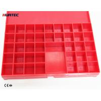 Wholesale CE ISO Approved Wire Type Penetrameter , Plastic X - Ray Lead Marker Box from china suppliers