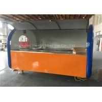 Wholesale Trolly Cart Stainless Steel Hot Dog Cart Hand-Push Kiosk On Small Wheels Vending from china suppliers