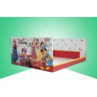 Buy cheap Stackable & Heavy-duty Cardboard Display Trays / PDQ Trays Under Disney Brand for Selling Battery Lamp from wholesalers