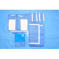 Wholesale OEM Blue Non Woven Surgical Cystoscopy Drape SMS Absorbent Material from china suppliers