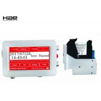 Buy cheap Thermal Inkjet Coding Machine For QR code, Variable Content Continuous Carton Easy Jet Printer from wholesalers