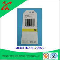 Wholesale paper Printable Rfid Labels For garments Euro standard new style and high quality clothing paper rfid tag from china suppliers