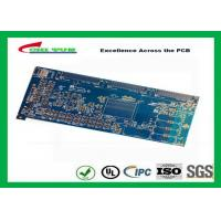 Wholesale Blue 20 Layer Quick Turn PCB Prototypes 3.5MM Immersion Gold 0.25mm Hole from china suppliers
