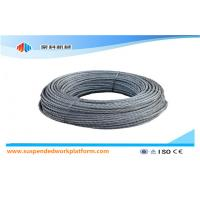 Wholesale Standard 100m Per Roll Suspended Platform Steel Wire Rope / Safety Rope / Cable from china suppliers