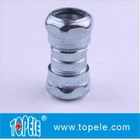 "Wholesale Zinc Plated Steel EMT Compression Coupling , EMT Coupling 1/2"" To 4"" Inch from china suppliers"