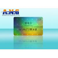 Wholesale Laser Film Holographic Business Cards / CMYK Print Barcode Membership Cards from china suppliers