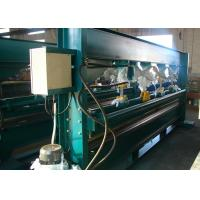 4m Color Steel Hydraulic Bending Machine , 3phase Sheet Metal Bender