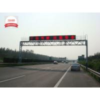 Wholesale P25 Full Color LED Variable Message Signs , Highway Message Boards Refresh Rate Over 500Hz from china suppliers