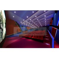 Wholesale Large 4D Theater System / 4d movie theater with 7.1 / 5.1 Audio system from china suppliers