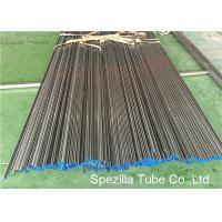 Quality ASME SA249 Annealed And Pickled Stainless Steel Tube Welding W.T. 0.035'' - 0.120'' for sale
