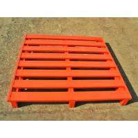 Wholesale Powder Coated Galvanized Packaging Steel Pallet With Heavy Loading Support from china suppliers