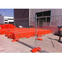 Wholesale 42 Microns Temp Fence Panels Removable Outdoor Fence Hot Dipped Galvanize from china suppliers