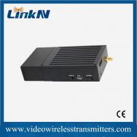 Wholesale Manpack  AES128 encrypted COFDM HD Wireless Transmitter Long range NLOS transmission from china suppliers