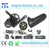 Quality BAFANG BBS02 36V 500W mid drive motor kits with 36V 10Ah USB Hailong battery for city bike for sale