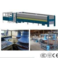 Wholesale Cookware Glass Lid Tempering Furnace , Pot Lid Glass Tempering Machine from china suppliers