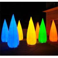 Wholesale Lampstand Shaped Inflatable Lighting Decoration 0.45mm PVC Material For Party / Celebration from china suppliers