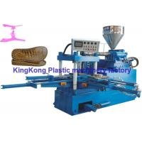 Wholesale Sinlge Color 2 PCS Mold Stations Shoe Making Equipment For Slipper / Sandal from china suppliers