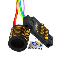 Wholesale Electrical Compact Separate Slip Ring For Robotics 8 Circuits from china suppliers
