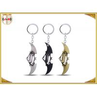 Wholesale Game Sword Silver Brass Colored Metal Tiny Key Rings For Promotion Zinc Alloy Material from china suppliers