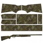 China Gun Skins Hunting Shooting Rest SHOTGUN SKIN Rapid Wraps Shotgun Wrap for sale