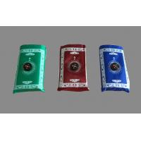 Wholesale Waterproof maroon, blue, green Muslim pocket prayer mat carpet with Qibla Locator Compass from china suppliers