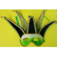 Wholesale Venetian Masquerade Carnival Half Face Mask Jolly Jester Costume from china suppliers