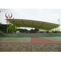 Tensile membrane structures for sports shed customized for Metal sun shade structures