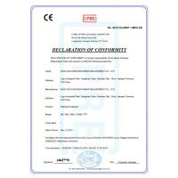 Wuxi Success Machinery & Equipment CO., LTD Certifications