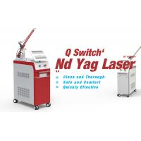 Buy cheap OEM & ODM salon use tattoo laser removal machine q switched nd yag laser with ce fda from wholesalers