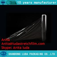 Wholesale Luda 17mic-23mic casting shrink wrap film/pallet stretch wrap/Stretch film from china suppliers