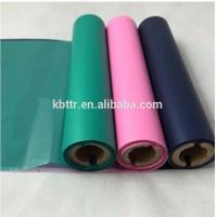Wholesale Multicolor wash resin color thermal transfer printer ribbon compatible for zebra citizen godex from china suppliers