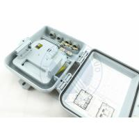Wholesale FTTH-XY-P-8  8 Core Fiber Optic Splitter Distribution box Fiber to The Home Box from china suppliers