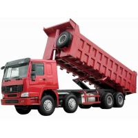 Wholesale CNHTC HOWO Euro 2 371 hp Dump Truck / tipper truck negative grounded from china suppliers