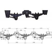 Wholesale American Germany Type Trailer Mechanical Suspension Sytem 2 axle-4 axle Semi Trailer Parts from china suppliers