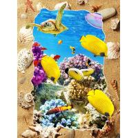 Wholesale 5d Deep Effect Ocean Feature Images Custom Lenticular Printing For Office / Hotel Decoration from china suppliers