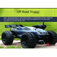 Wholesale Radio Control Brushless Short Course RC Trucks 4WD Truggy with All Terrain Tyres from china suppliers