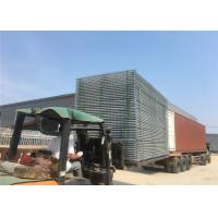 Wholesale temporary chain link fence panels 6'x12' construction fence mesh spacing 60mm x 60mm x 2.70mm from china suppliers