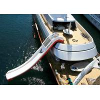 Wholesale Giant Inflatable Water Spots, Inflatable Curved Yacht Boat Slide from china suppliers