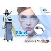 Wholesale Multi function vacuum rf body slimming salon equipment 4 handles Slim4 from china suppliers