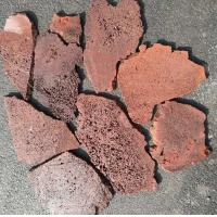 Wholesale Red/Brown Lava Stone Random Flagstones,Lava Irregular Flagstones,Basalt Crazy Stones,Lava Random Stones from china suppliers