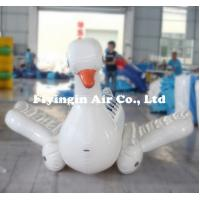 Wholesale Water Toys Giant Cute Inflatable Floating Goose for Adults and Children from china suppliers