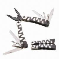 Wholesale Multi-plier/Stainless Steel Multi-tool, Ten Functions, Black and White Handle or as Request from china suppliers