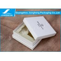 Wholesale Handmade Luxury Cosmetic Packaging Boxes / Storage Box With White EVA Insert from china suppliers