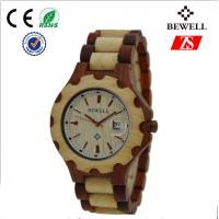 Wholesale 1ATM Waterproof Quartz Wood Watch / Handmade Wooden Watches For Women from china suppliers