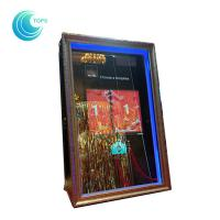 Wholesale Led open air wedding photo booth 3d mirror selfie photo booth from china suppliers