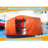 Wholesale Air Tight Inflatable Air Tent For Emergency , Emergency Air Tent With Flame Retardant Material from china suppliers