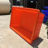 Wholesale 1000L PE big plastic live fish transport tanks from china suppliers