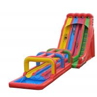 Quality Giant Inflatable Water Toys Summer Inflatable Slide Water Park For Children for sale
