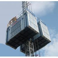 Wholesale Middle Speed Building Elevator Hoist , VFC Control And Single Cage from china suppliers